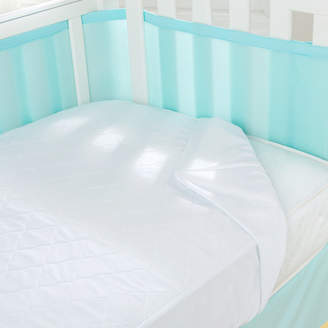BreathableBaby Breathable Baby Air Mesh Waterproof Crib Mattress Pad