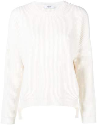 Blugirl lateral straps ribbed jumper