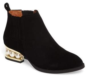 Women's Jeffrey Campbell Metcalf Almond Toe Bootie