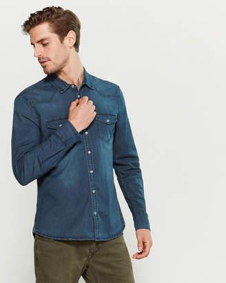 Gaudi' Gaudi Denim Flap Pocket Shirt