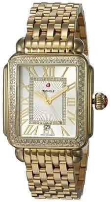 Michele Deco Madison Watch Gold
