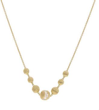 Marco Bicego 18k Gold Africa Short Diamond Constellation Necklace