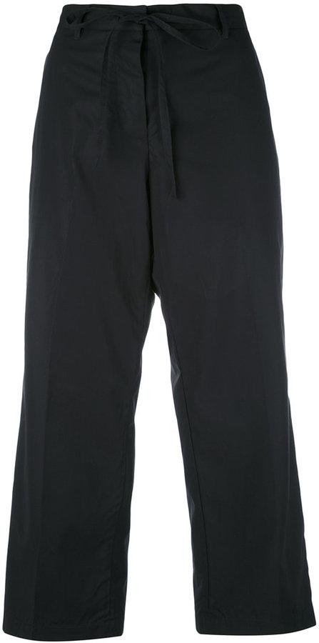 Alberto AspesiAspesi flared cropped trousers