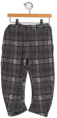 Arch & Line Boys' Printed Straight-Leg Pants