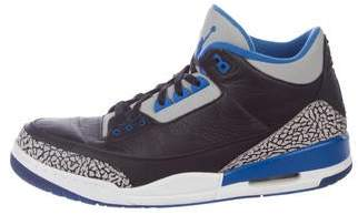 Jordan 3 Retro Sport Blue Sneakers