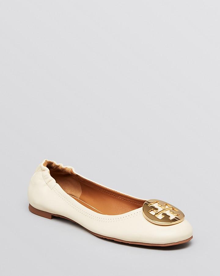 Tory Burch Logo Ballet Flats - Reva