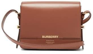 4a6baa65bed9 Burberry Grace Leather Cross Body Bag - Womens - Black Tan