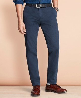 Brooks Brothers Slim Fit Garment-Dyed Chinos