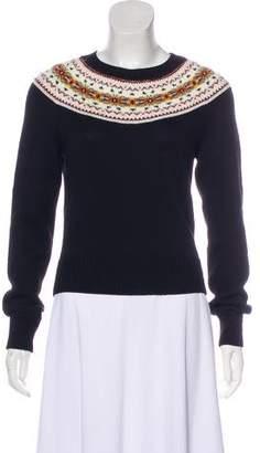 Philosophy di Lorenzo Serafini Virgin Wool Rib Knit Sweater