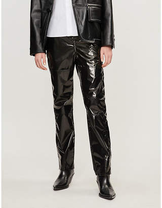 MM6 MAISON MARGIELA Elasticated-waist shell trousers