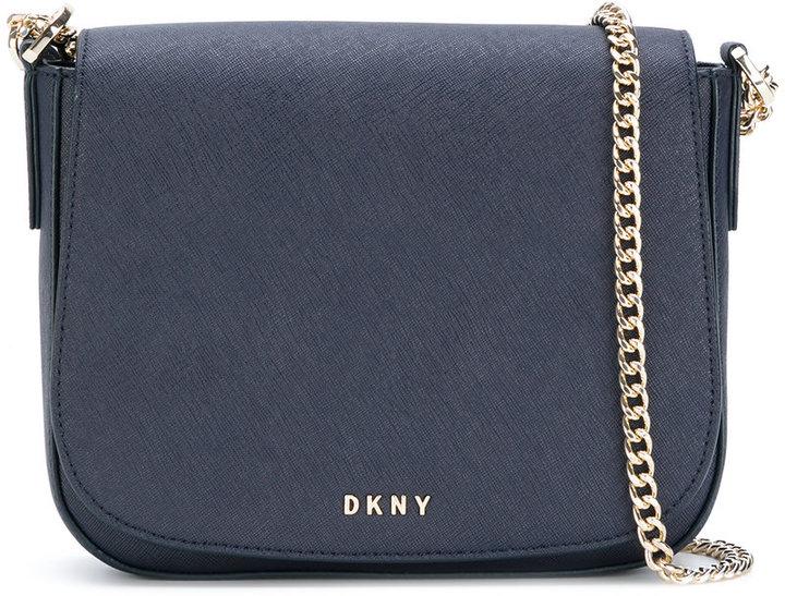DKNY foldover shoulder bag