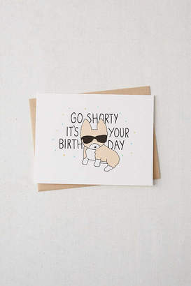 Corgi Tiffbits Go Birthday Card