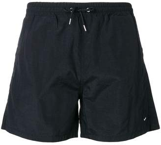 McQ Swallow badge swim trunks
