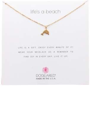 Dogeared Life's A Beach Dolphin Pendant Necklace