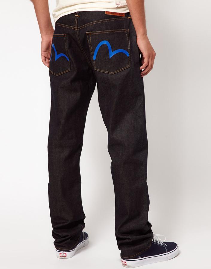 Evisu Jeans Selvedge Loose Fit