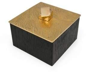 Kelly Wearstler Lustre Oak Jewelry Box
