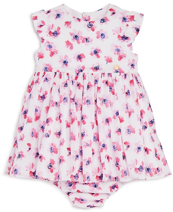 Armani Junior Armani Junior Infant Girls' Floral Dress & Bloomers Set - Sizes 12-36 Months