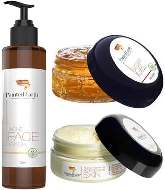 Painted Earth Skin Care Acne & Sensitive Skin Solutions Set