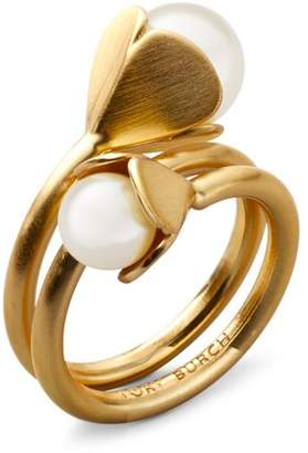 Tory Burch BELLFLOWER RING