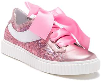 Naturino 5256 Sequin Lace-Up Sneaker (Little Kid & Big Kid)