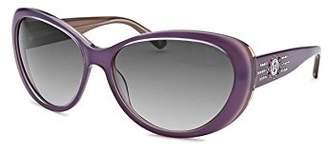 Bebe Women's Captivating Cat Eye Amethyst Sunglasses