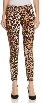 7 For All Mankind Ankle Skinny Jeans in Chestnut Cheetah