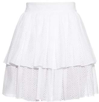 Sophie Theallet Anais tiered-ruffle mini skirt