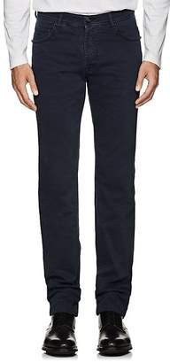 Marco Pescarolo Men's Cotton Twill 5-Pocket Pants