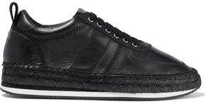 McQ Leather Espadrille Sneakers