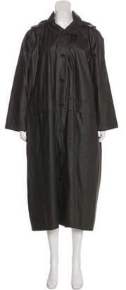 eskandar Long Over Sized Coat w/ Tags