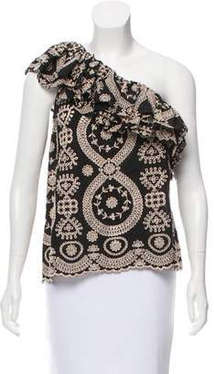 LoveShackFancy Tanya Embroidered Top w/ Tags