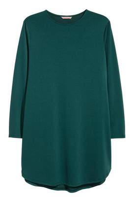 H&M H & M+ Jersey Tunic - Dark green - Women