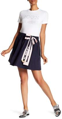 Love Moschino Fiocco Matita Bow Skirt
