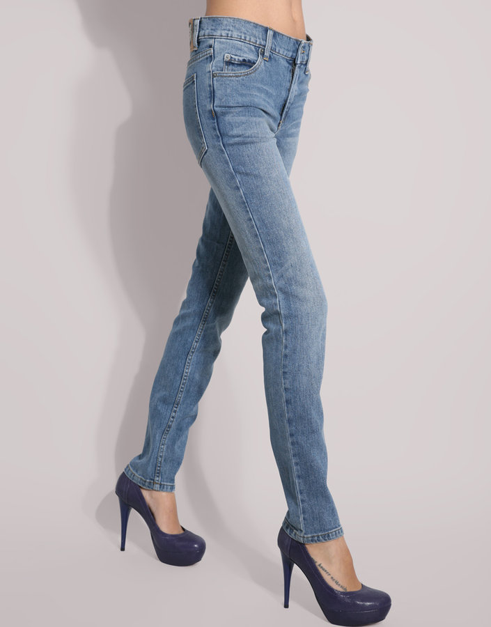 Cheap Monday Light Washed Tight Skinny Jeans