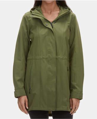 Ems Women Compass Rain Trench Jacket
