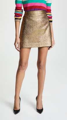 Milly Metallic Skirt