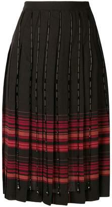 Marco De Vincenzo plaid pleated skirt