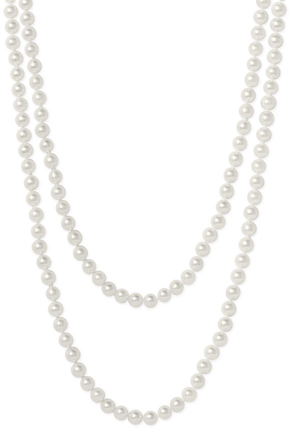 Mastoloni Akoya Baroque 7mm Pearl Long Strand Necklace