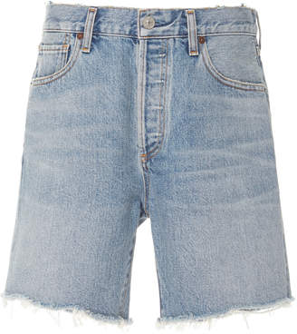 Citizens of Humanity Bailey Frayed Denim Shorts