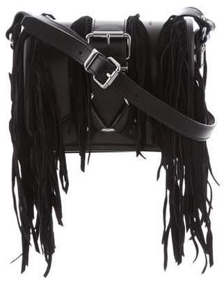 The Kooples Fringe Leather Crossbody Bag