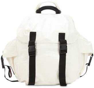 Coated Cotton Backpack