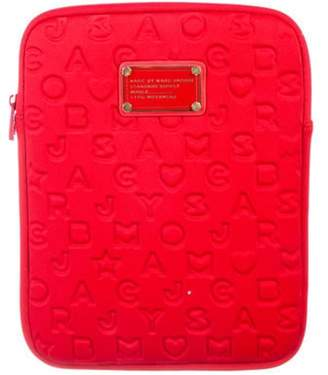 Marc by Marc Jacobs Embossed Tablet Case Red Embossed Tablet Case