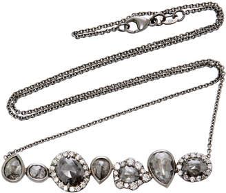 Kimberly McDonald Rhodium-Plated 18K White Gold Diamond Necklace