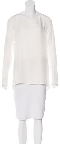 3.1 Phillip Lim 3.1 Phillip Lim Silk Long Sleeve Top