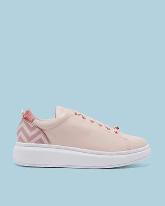 AILBE Platform sole printed sneakers