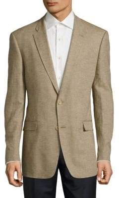 Tommy Hilfiger Slim Fit Cotton & Linen Sportcoat