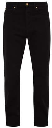 Versace Straight Leg Jeans - Mens - Indigo