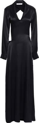 CHRISTOPHER ESBER Open-back Satin Maxi Dress