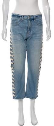 Veronica Beard High-Rise Straight-Leg Jeans w/ Tags