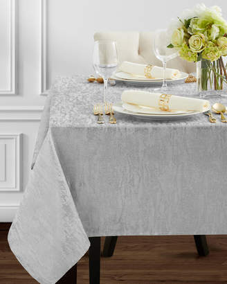 Benson Mills Silver-Tone Metals Tablecloth